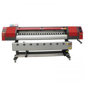 1.8m wye formaat kleur sublimasie drukker met drie dx5 drukkoppe vir t-hemp drukwerk WER-EW1902