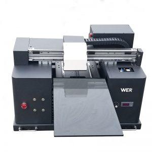 2017 goedkoop A4-grootte lessenaar tablet uv gelei flatbed digitale drukker WER-E1080UV