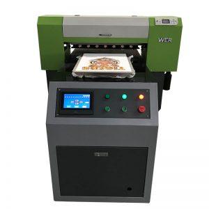 2018 nuwe produk 8 kleure inkjet a1 6090 uv flatbed printer