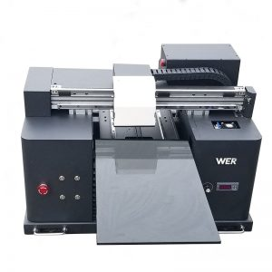 300 * 420mm rol platbedding uv geleide drukker a3 WER-E1080UV te rol