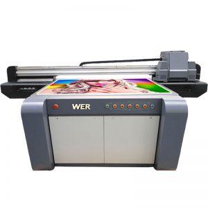 3D effek UV flatbed drukker, keramiek drukker, teëls druk masjien in China WER-EF1310UV