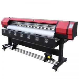 6 voet Druk Video WER-ES1901 DX5 / DX7 kop-eko oplosmiddel drukker in China verskaffer
