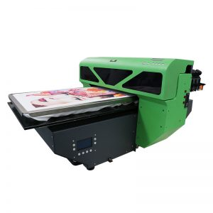 A2-grootte digitale DTG T-hemp drukker platbedrukker 8 kleur DX5 drukkop WER-D4880T