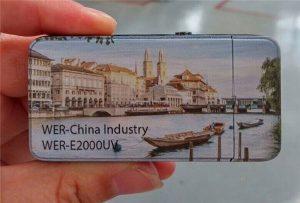 Elektriese aansteker is gedruk deur A3-grootte klein UV-drukker -WER-E2000UV