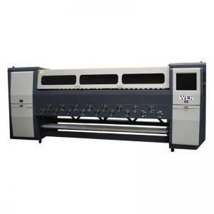 goeie gehalte K3404I / K3408I Solvent Printer 3.4m swaar inkjetprinter
