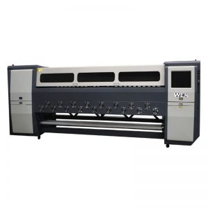 Goeie kwaliteit K3404I / K3408I Solvent Printer 3.4m swaar inkjetprinter