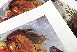 Olie Canvas gedruk deur 2,5m (8 voet) eko oplosmiddel drukker WER-ES2501
