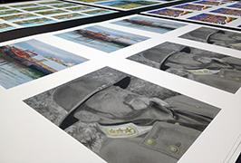 Fotopapier gedruk deur 1.8m (6 voet) eko oplosmiddel drukker WER-ES1802 2