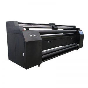 WER-E1802T 1.8m direk na tekstiel drukker met 2 * DX5 sublimasie drukker