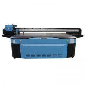 kleur CMYK LCLM wit vernis UV-flatbed drukker 3D WER-G2513UV