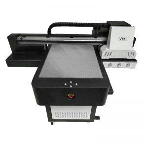 digitale uv flatbed inkjet direkte tekstiel drukker t-hemp DTG drukker WER-ED6090T