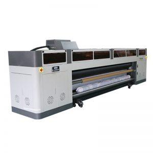 hoë resolusie hoë spoed digitale inkjetprinter masjien met ricoh gen5 printkop UV plotter WER-G-3200UV