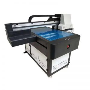 multifunctionele hoë kwaliteit DTG flatbed UV printer LED UV kop ricoh vir hout WER-ED6090UV