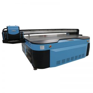 2,5m * 1,3m druk grootte 3D reliëf Industriële Led UV drukker vir metaal, hout, glas, keramiek, bord, akriel, pvc,
